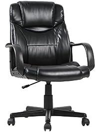 viva office ergonomic bonded leather