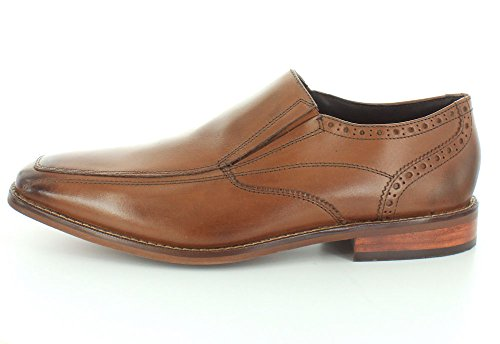 Florsheim Mens Castellano Moc Toe Slip-on Saddle Tan Liscio