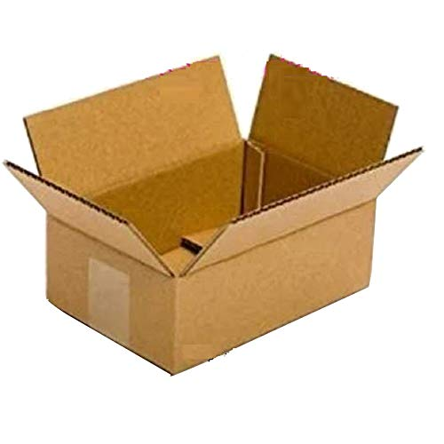 Shri Ram Packaging Corrugated Box, Brown, 9″L X 6″ W X 3″H (Pack of 50) Price & Reviews