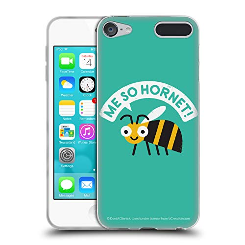 - Official David Olenick Yellow Jacket Animals Soft Gel Case for Apple iPod Touch 6G 6th Gen