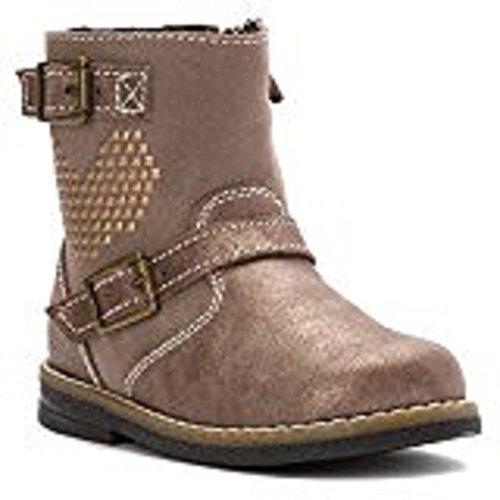 (primigi gloria taupe suede toddler girl kid boot size 25 EU)