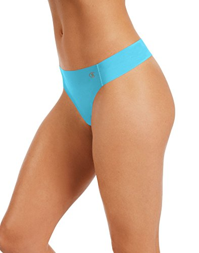 Champion Women's Absolute Thong, Turquoise Waters, X-Large