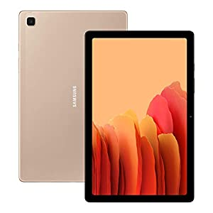 Samsung Galaxy Tab A7 32 GB Wi-Fi Android Tablet – Gold (UK Version)