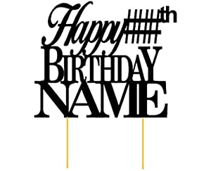 amazon happy birthday heart personalized name birthday cake Happy Birthday Roses all about details customized happy birthday cake topper with age name