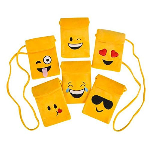 DollarItemDirect 7'' Emoticon Purse with 46'' Strap, Case of 144