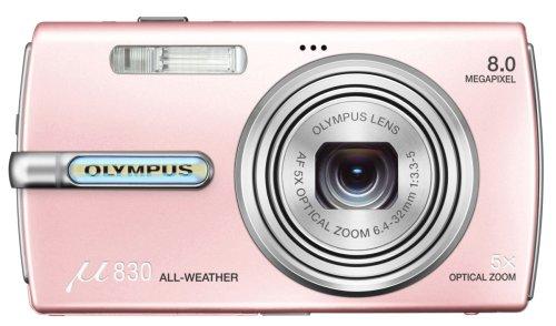 OLYMPUS デジタルカメラ μ830 (ミュー) シャイニーピンク μ830PINK
