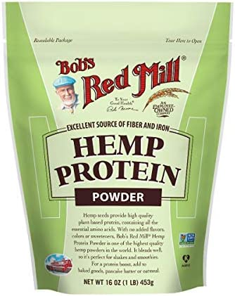 Bob s Red Mill Hemp Protein Powder 16 Ounces 2 Pack