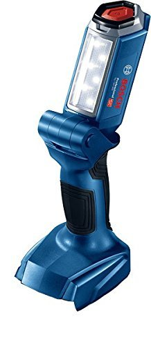 (Bosch GLI 18V-300 Professional Cordless Torch Easy Grip Portable Work Light Lantern 18V Bare Tool( Battery and charger not included)