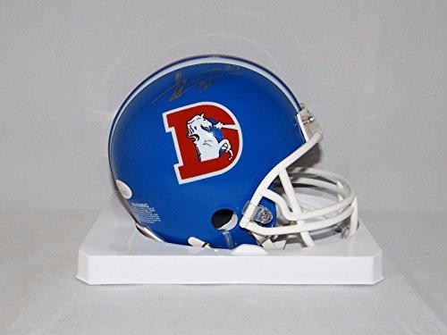 Steve Atwater Autographed Denver Broncos TB Mini Helmet with JSA W Auth ()