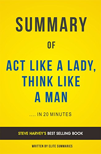 Act Like A Lady Think Like A Man Book Chapters