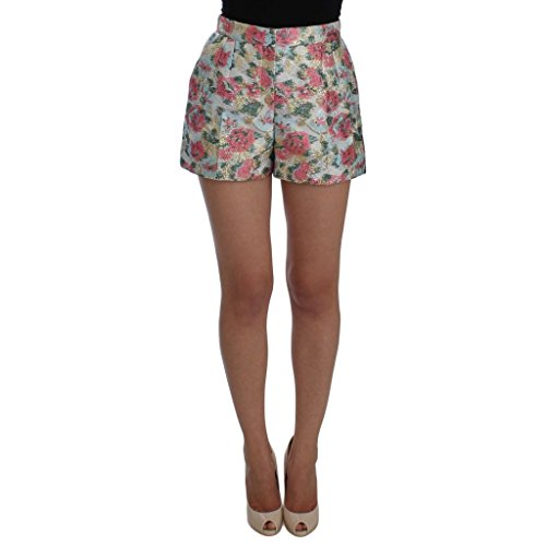 Dolce & Gabbana Multicolor Floral Brocade Shorts