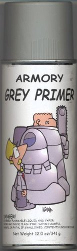 Armory Spray Primer (Grey)