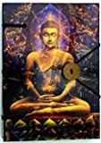 Fortune Telling Toys Buddha Journal 4 1/2'' x 6 1/2'' Record Your Spiritual Dreams