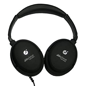 ABLE PLANET NC300B True Fidelity Around-the-Ear Active Noise Canceling Headphones (Black) (Discontinued by Manufacturer)