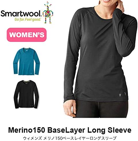 SS20 Smartwool Womens Merino 150 Basisschicht Lange H/ülse Top