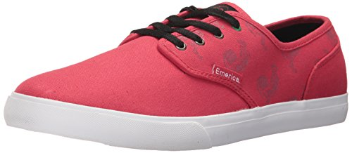- Emerica Men's Wino Cruiser X Sriracha Skate Shoe, red/White, 7 Medium US