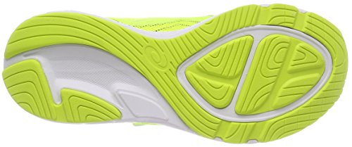 Asics Noosa PS, Zapatillas de Running Para Niños Amarillo (Carbon/safety Yellow/mid Grey 9707)