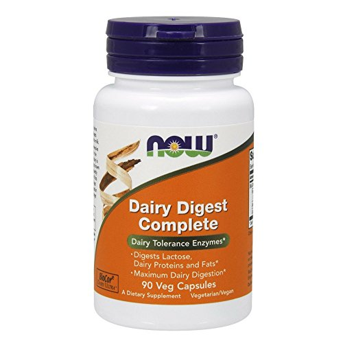 NOW Dairy Digest Complete Capsules product image