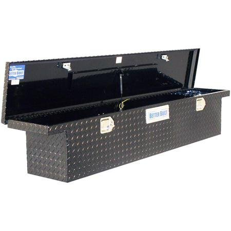 Better Built 70 Inch Black Aluminum Truck Tool Box (Toolbox For 2003 Chevy Silverado)