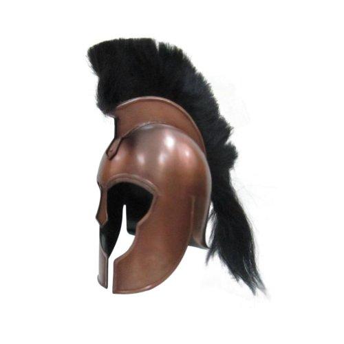 Troy Helmet Copper - Greek Armor Costume - Copper - One Size by NAUTICALMART