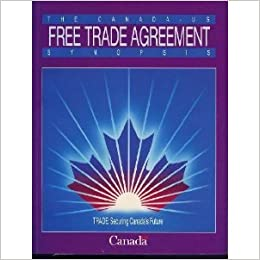 the canada u s free trade agreement synopsis books. Black Bedroom Furniture Sets. Home Design Ideas