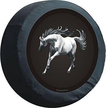 Premium Reserva radab cobertura - pegatinas con diseño de caballo, para rueda de reserva de cubierta de lonas, 60 cm: Amazon.es: Coche y moto
