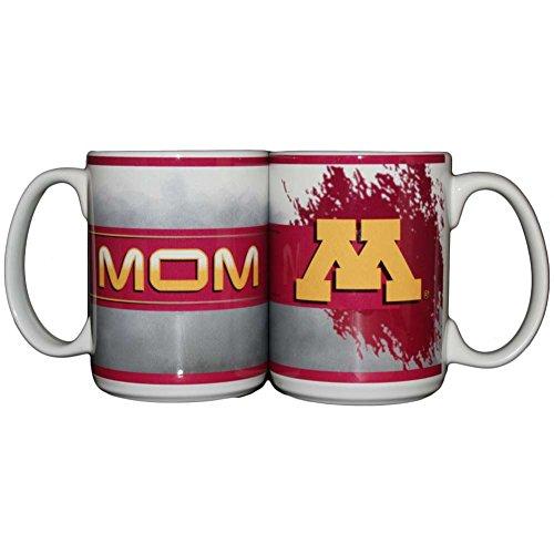 Memory Company Minnesota Golden Gophers 15oz Ceramic Mug - Mom
