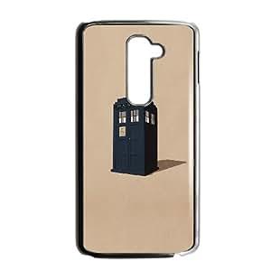 LG G2 Cell Phone Case Black_af11 police box public illust Riszg