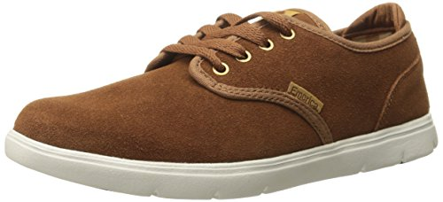 Emerica Men's Wino Cruiser Lt Skateboarding Shoe, Brown/White, 10 M US
