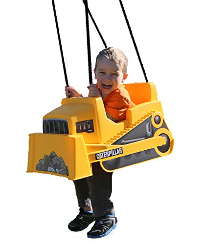 Caterpillar Dozer Toddler Swing