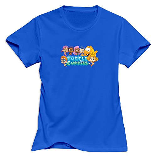 bubble-guppies-nerdy-100-cotton-royalblue-tshirt-for-womens-size-xl