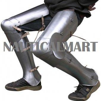 Medieval Leg Gothic Armor plate By Nauticalmart by NAUTICALMART