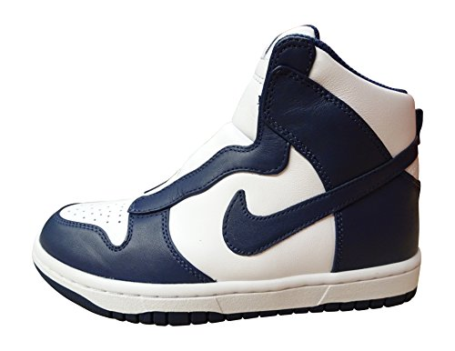 Nike Wmns Dunk Lux / Sacai, Zapatillas de Deporte Para Mujer Azul (Midnight Navy / Mdnght Navy-Wht)