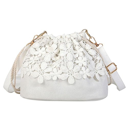 White Powlance Women Bag Shoulder For qqwatrI