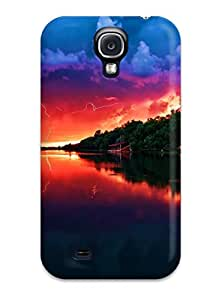 Jairo Guzman's Shop 8908688K60725328 Case Cover Protector Specially Made For Galaxy S4 Amazing Red Sky