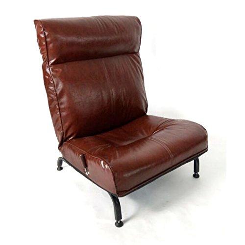 タンスのゲン ヴィンテージ調 高座椅子 1P 無段階180度リクライニング 15210056 00 B073PSGX15