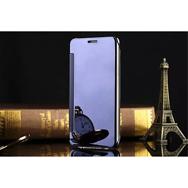 Luxury Clear View Mirror Flip Smart Case Cover For Samsung Galaxy A5/A7/A8/A9/A3(2016)/A5(2016)/A7(2016)/A910...