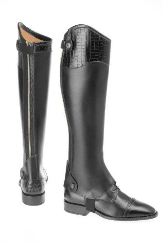 USG United Sportproducts B92 Dallas - Botas de equitación, talla XS++ (50/34), color negro