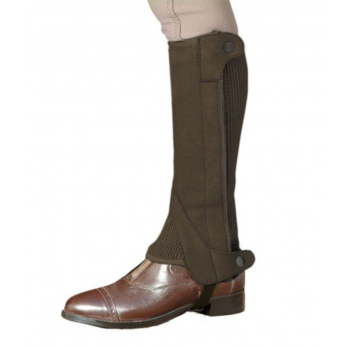 Chaps Half Elite (Ovation Child Elite Amara Half Chap (Dark Brown, 1214))