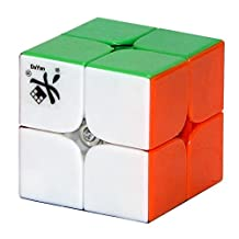 Dayan B00CZFED420808 2013 Zhanchi I 2x2 46mm Stickerless Speed Cube 2x2x2 Puzzle
