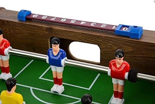 Tafelvoetbal Game, Mini Houten Tafelblad Voetbal, Voor Kinderen En Volwassenen