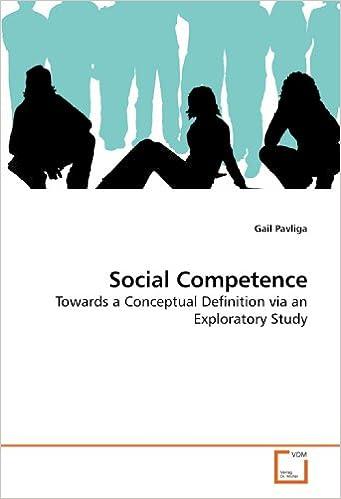 Book Social Competence: Towards a Conceptual Definition via an Exploratory Study