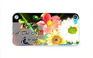 Graphic Cute flower Apple iPod Touch 5 Case Cover Hardshell Full Back Case Cover