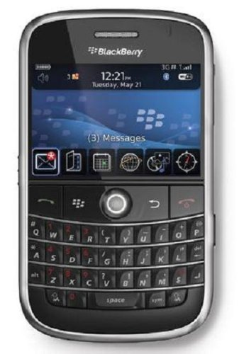 BlackBerry Bold 9000 Slot International Black product image