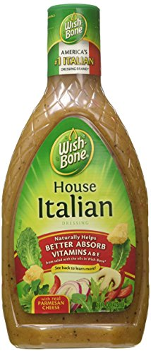 - Wish Bone House Italian Dressing, 16-Ounce Bottles (Pack of 6)