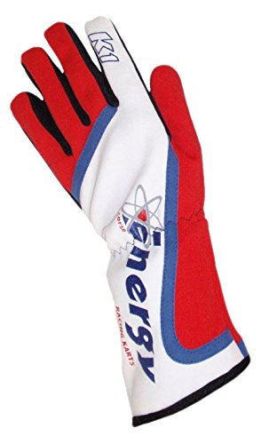 Racing Kart Chassis (K1 Race Gear Team Branded Energy Kart Racing Gloves (Red/White/Blue, Medium))