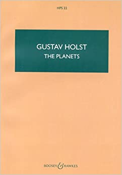 ホルスト: 組曲 「惑星」 Op.32/ブージー & ホークス社/中型スコア