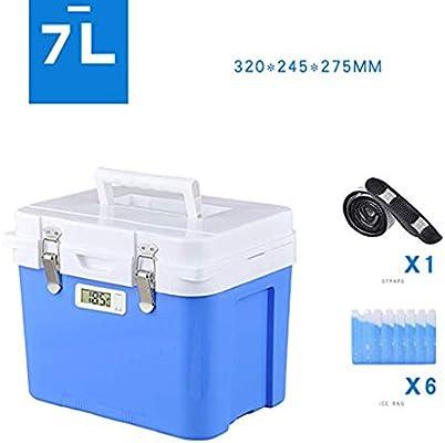 Caja de aislamiento del refrigerador, hielo seco portátil pequeño ...