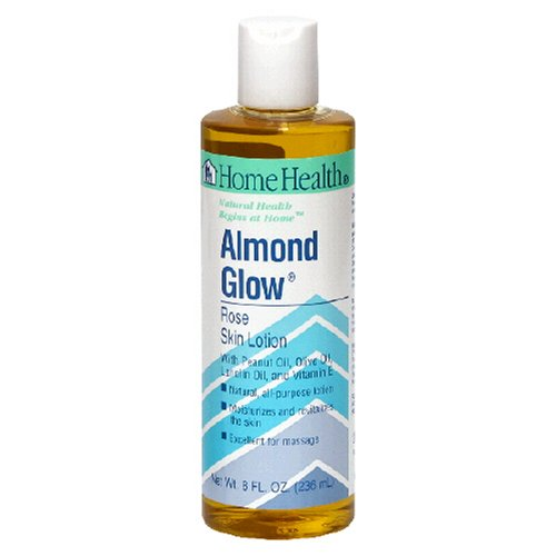 Health Home Almond (Home Health Almond Glow Skin Lotion, Rose, 8-Ounces (Pack of 3))