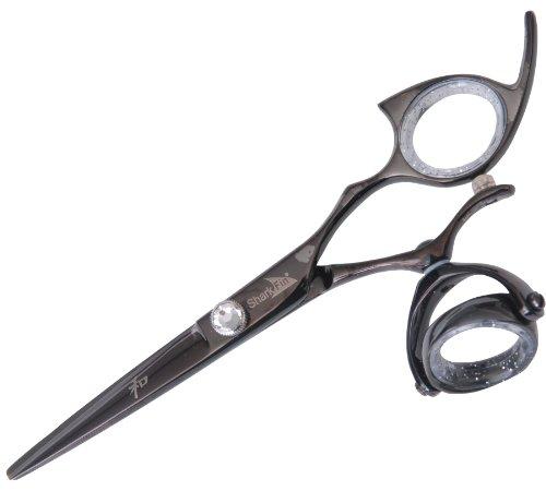 Sharkfin Professional Line Titanium Right Hand Super Swivel Black 5.5